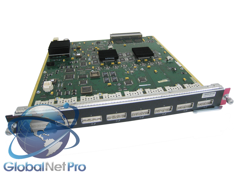 Lot of 5 Cisco WS-X6408A-GBIC 8-Port GBIC-Based Gigabit Ethernet Module 6q